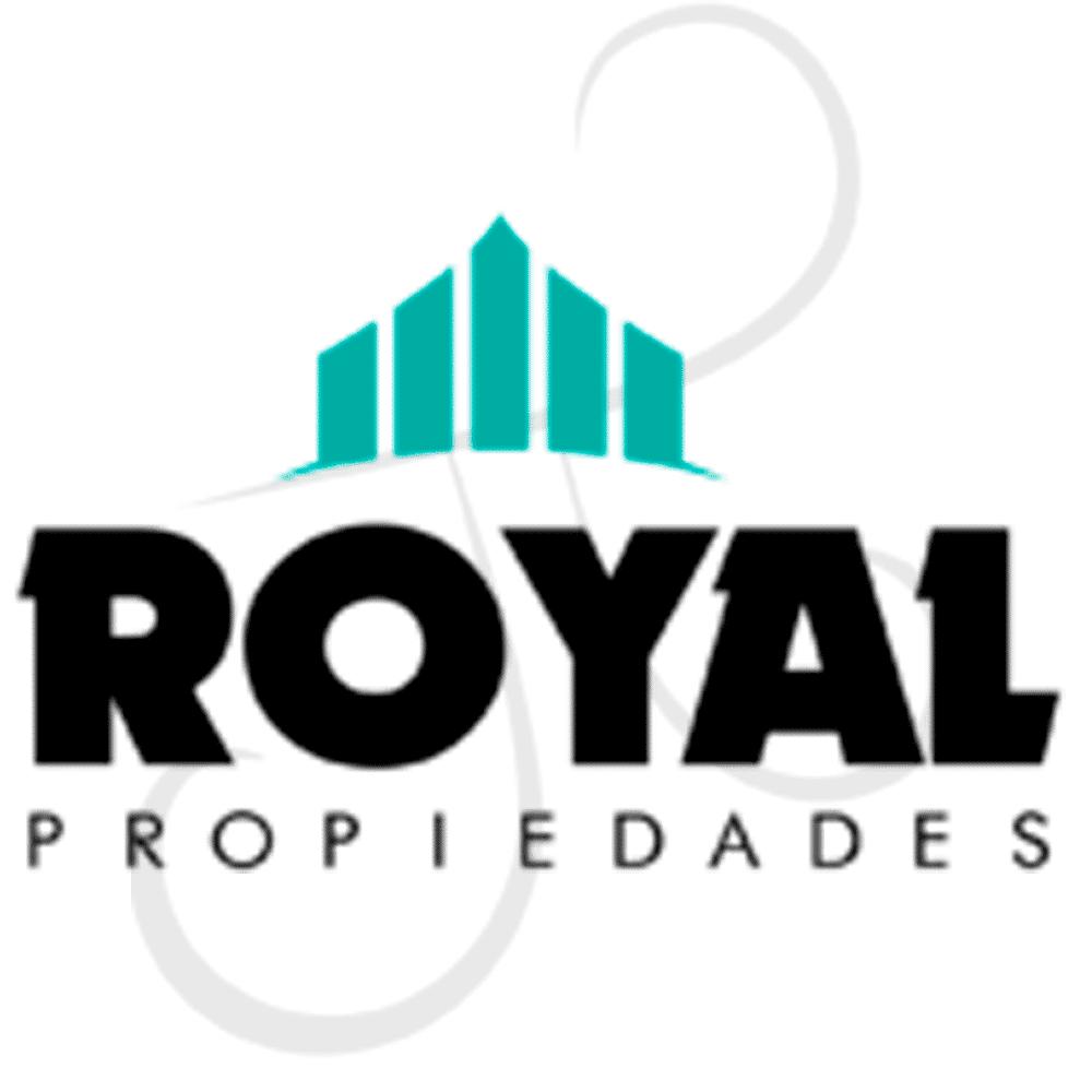 diseño logo royal propiedades